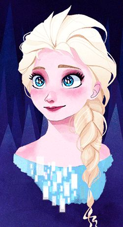 Queen Elsa animation by hope-for-da-snow
