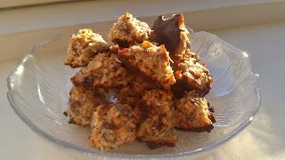 Nyd maden: Gluten-, mælke- og sukkerfrie kokostoppe