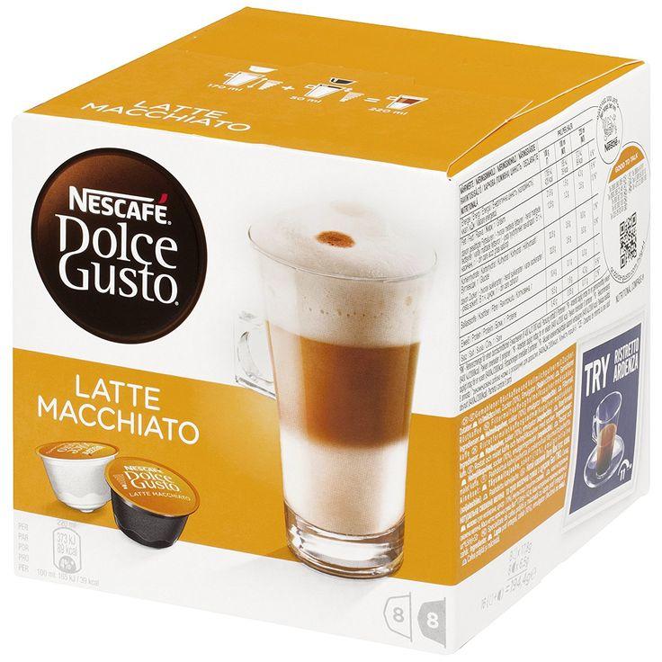 Superisparmio's Post Latte Macchiato NESCAFÉ DOLCE GUSTO LATTE MACCHIATO - 6 confezioni da 16 capsule (48 tazze) A solo 22.13 http://ift.tt/2ugmMeh