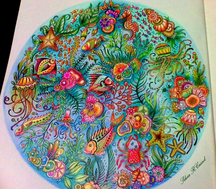 244 best ***Coloring - Johanna Basford - Lost Ocean*** images on ...