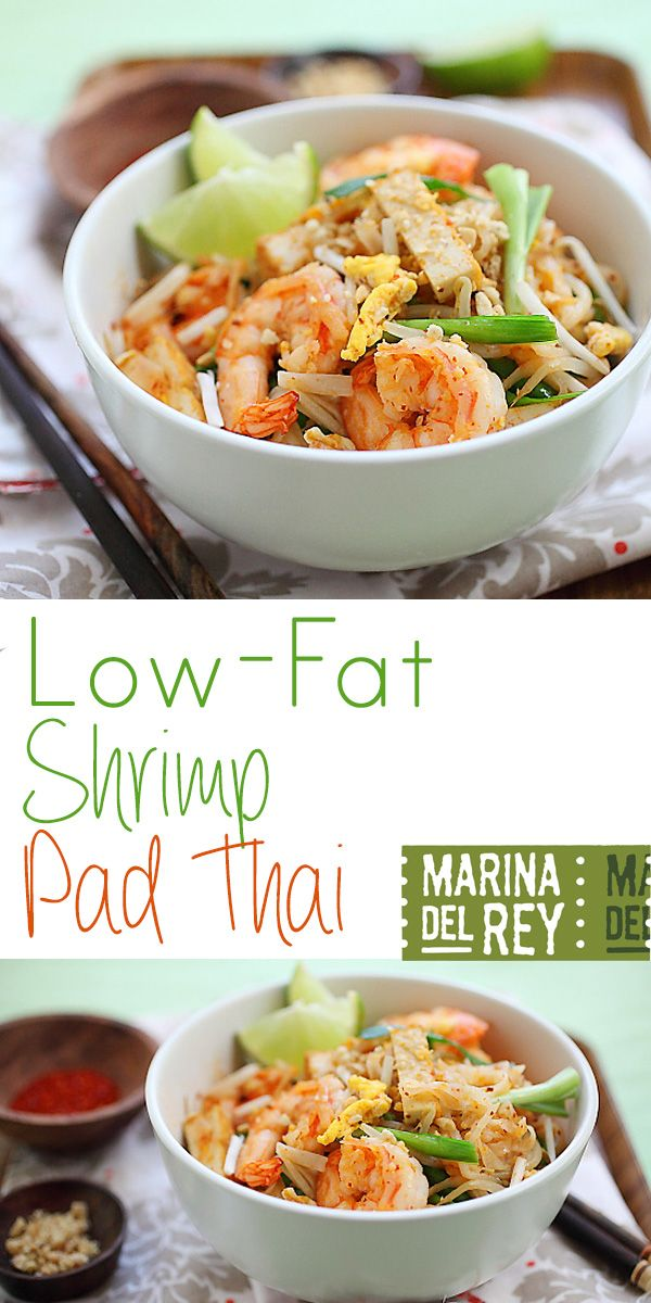 ... Thai Classic: Shrimp Pad Thai A healthy twist of the Thai classic More