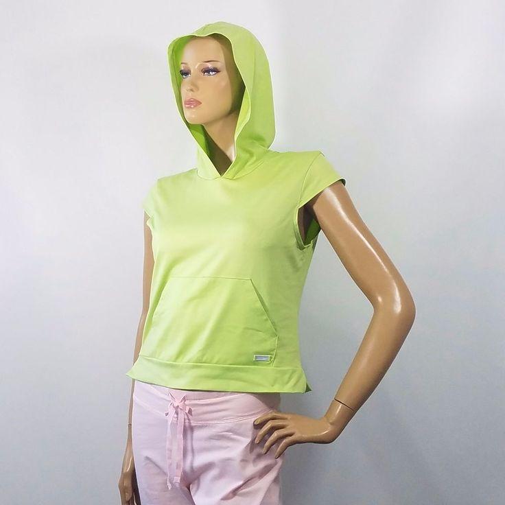 Nike Sportswear Youth Women Hooded Athletic Running Shirt Short Sleeve Sz M 8-10 #Nike #ShirtsTops