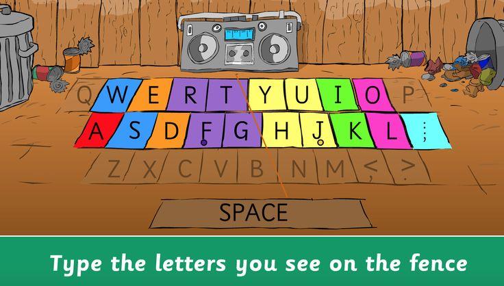 KidzType Online Keyboarding Practice