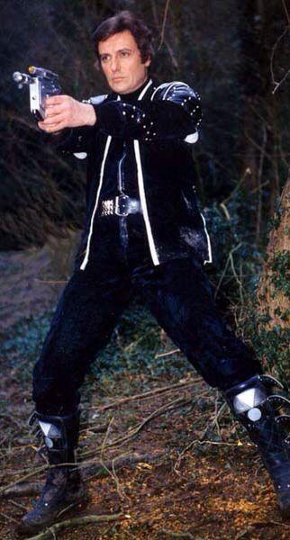 Paul Darrow as Kerr Avon in Blake's 7