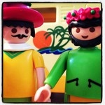Two men on a holiday. #playmobil #gaymobil