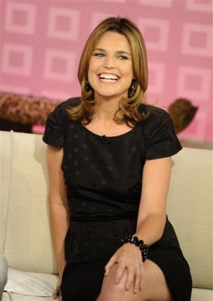 Savannah Guthrie - adore her on the Today Show!