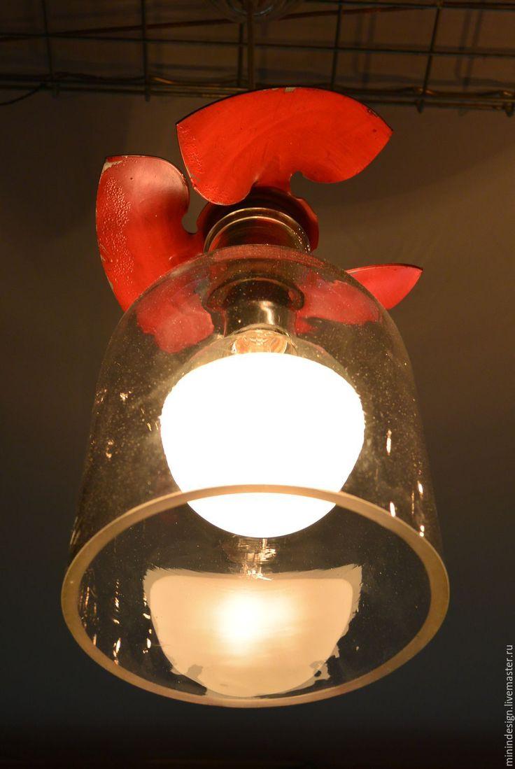 Купить Тень Винта - люстра ручной работы, оригинальный светильник, авторская работа, единственный экземпляр