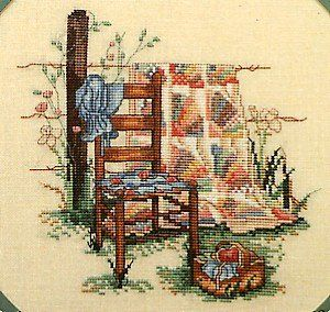 Summers Remembered Leisure Arts 392 Paula Vaughan Cross Stitch Chart Pattern Leaflet Booklet