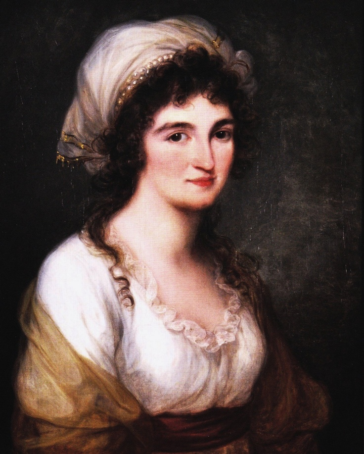 Kauffmann Angelica  Portrait of Domenica Volpato, c. 1791