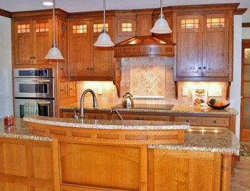 Craftsman Style Kitchen Traditional Kitchen Kustom Home Mission Style  Kitchens Designs Photos Craftsman Style Kitchen Traditional Kitchen Kustom  Home ...