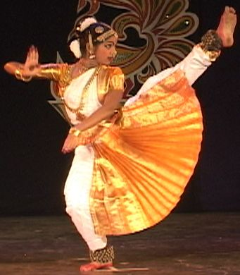 danzas de la India Bharata Natyam
