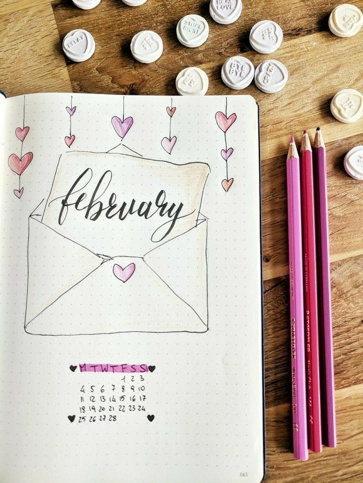 Pin By Joni Motmans On Mumplanner In 2020 February Bullet Journal Bullet Journal Cover Ideas Bullet Journal Ideas Pages