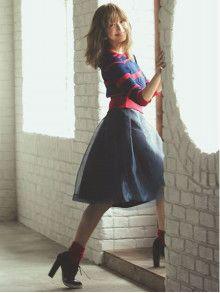 """sweet 9月号/紗栄子さん""""BORDER""""coordinate♥  Rirandture Official Blog"""