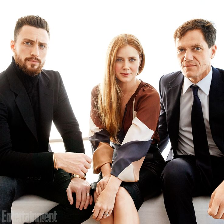 Aaron Taylor Johnson, Amy Adams and Michael Shannon, Nocturnal Animals #TIFF