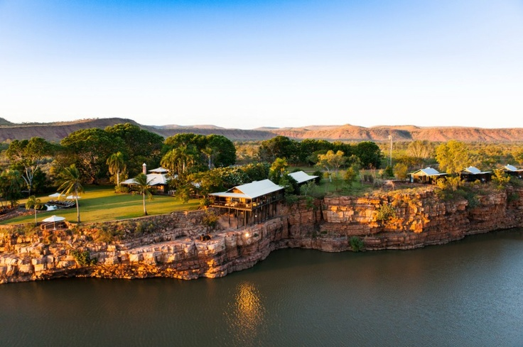 El Questro Wilderness Park - 5 star - overlooking the Chamberlain Gorge - Western Australia