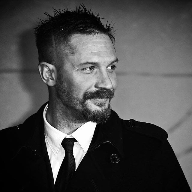 "From jshaw_photography James Shaw ""tomhardy at the #premiere of #revenant #portrait #blackandwhitephoto #monochromephoto #canon1dx """