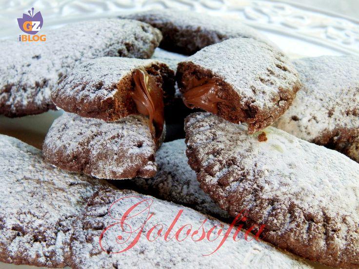 ravioli di pasta frolla con cuore di nutella-ricetta dolci al cucchiaio e dolcetti-golosofia