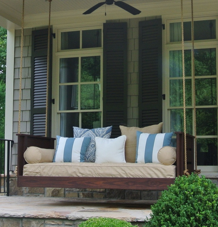 Porch Swing Bed Plans Living Room Woodworking Projects
