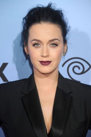 Katy Perry manages to pull off goth and chic effortlessly. Get the look here: