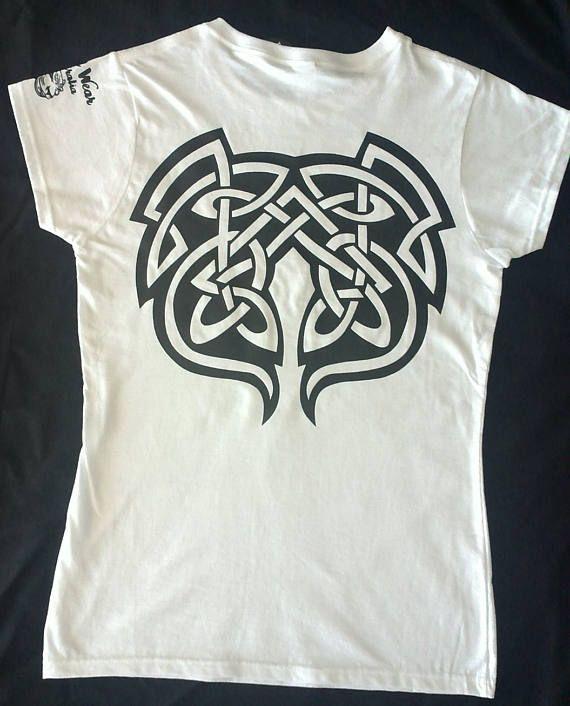 Women's Ladies Graphic Tribal T/Shirt (Tribal Graphic) - Tribal - Tribal Tee - Tribal style - Tribal wear - Tattoo graphic - Tribal graphic