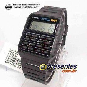 CA-53-1Z, CA-53-1V, CA53W, CASSIO, CA 53, Calculator Wristwatch, databank CA-53W-1ZD, CASIO CA-53 WR, ca53w1zd, CA53W-1, www.e-presentes.com.br : onde comprar relogio casio CA53W-1 original com garantia melhor preço e pronta entrega, relogio casio calcul