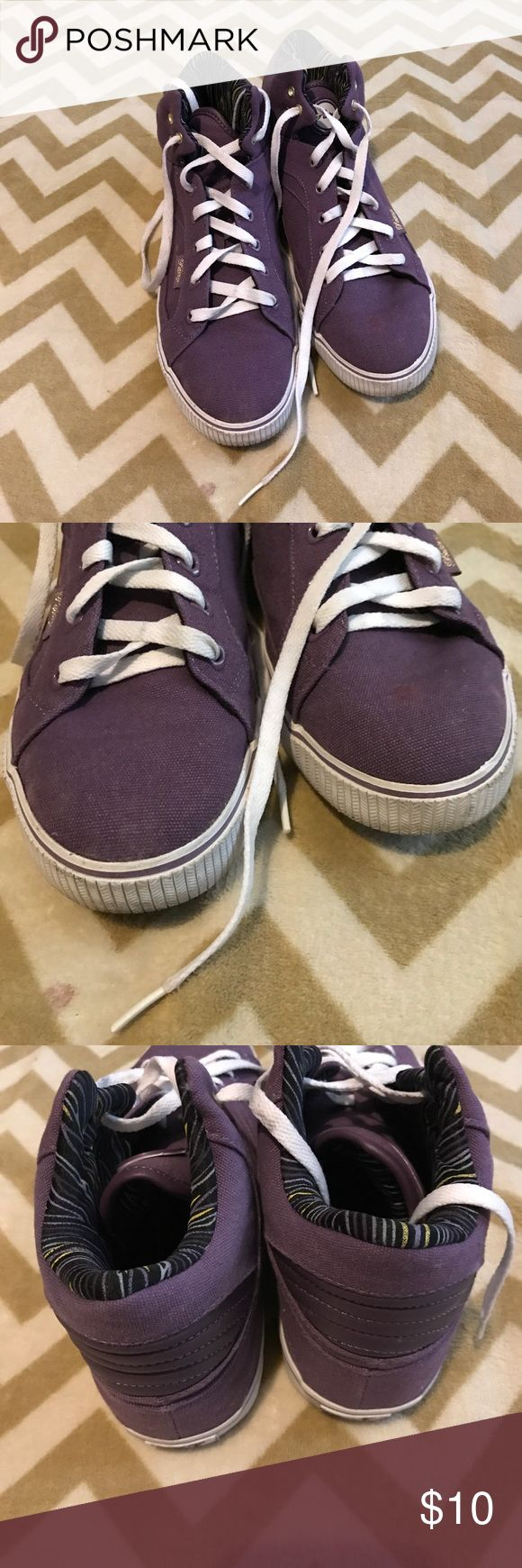 Women's Purple Pastry Sneakers size 10 Used but in good condition some wear in the front of the sneaker as shown in the picture. Canvas sneakers Pastry Shoes Sneakers