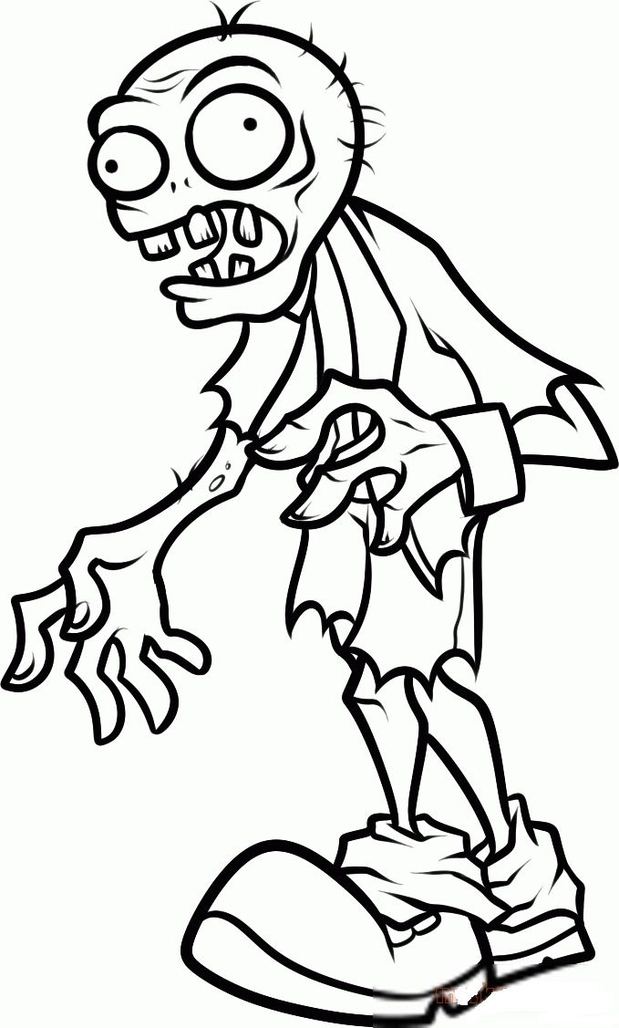 Plants Vs Zombies Coloring Pages To Download And Print For Free