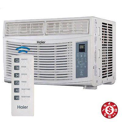 Window Air CONDITIONER 8000 BTU 350Sq Energy Star Home AC Unit w/ Remote Control