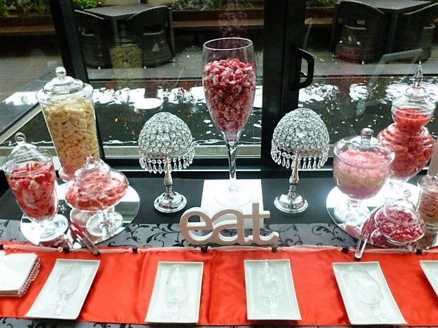 Got a sweet tooth? Serve a candy buffet at your event! #dessert #candybuffet #event #idea