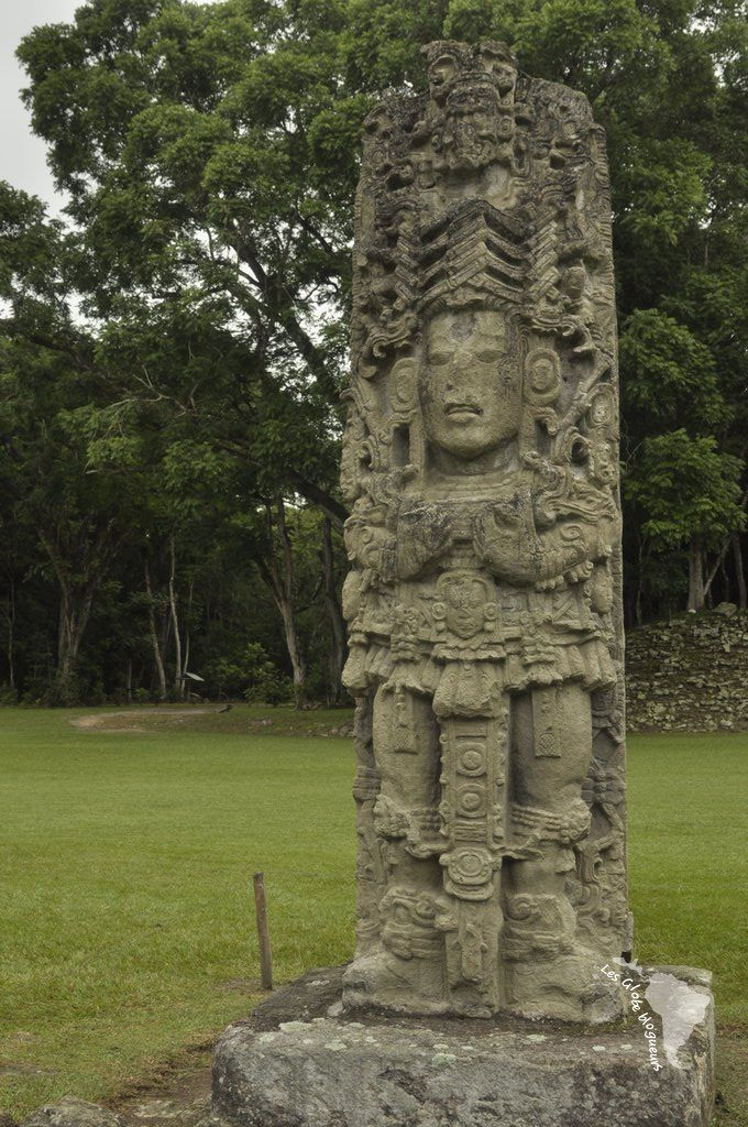 Sculptures Copan Ruinas