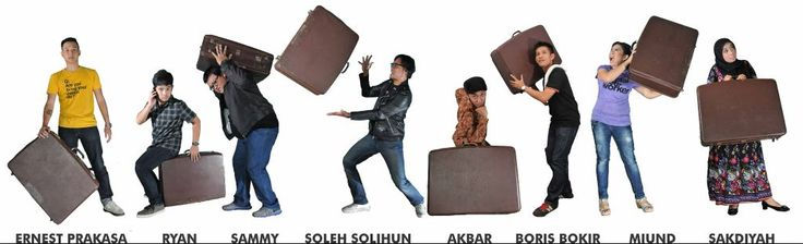 Koper .. The first-big Stand-up Comedy Show in Indonesia. Ernest-Ryan-Sammy-Soleh-Akbar-Boris-Miund-Sakdiyah