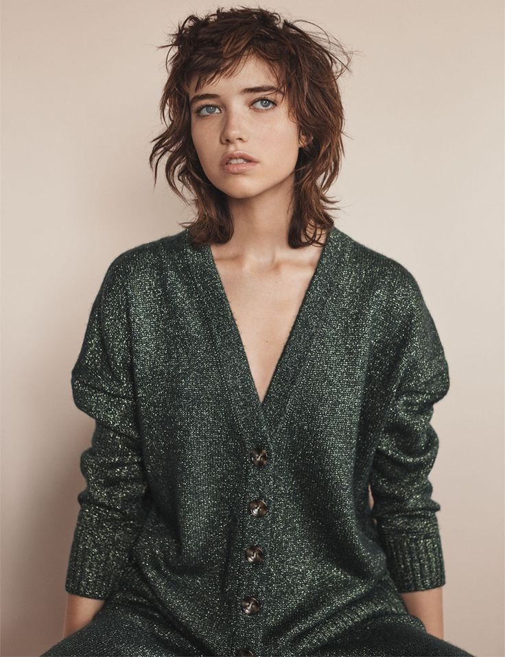 Zara Green Jacket and Trousers. Model: Grace Hartzel