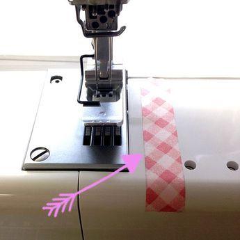 Fita adesiva Lexinähkon ao costurar para bordas limpas e costuras retas e …   – Nähen