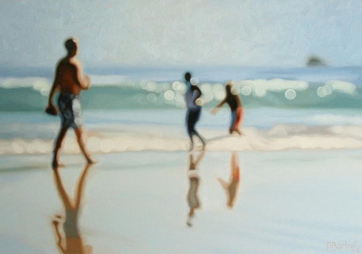 VaVaVoom!: Hazy Summer paintings by Philip Barlow