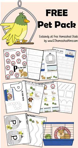 free printable pet pack fun learning worksheets for toddler preschool kindergarten and - Free Printable Fun Worksheets For Kids