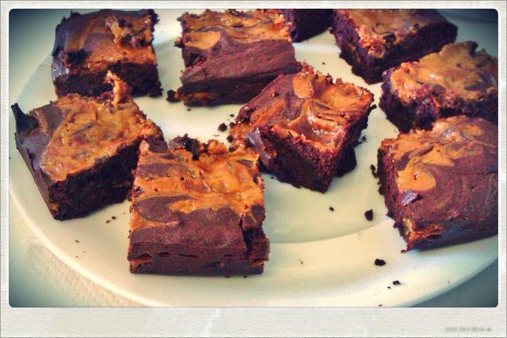 Basement Brownies Recipe Dulce De Leche (Caramel) Brownies | Bakes to ...