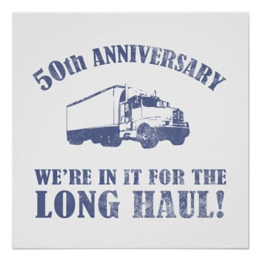 >>>Low Price Guarantee          50th Anniversary Humor (Long Haul) Posters           50th Anniversary Humor (Long Haul) Posters In our offer link above you will seeShopping          50th Anniversary Humor (Long Haul) Posters lowest price Fast Shipping and save your money Now!!...Cleck Hot Deals >>> http://www.zazzle.com/50th_anniversary_humor_long_haul_posters-228479626561688765?rf=238627982471231924&zbar=1&tc=terrest