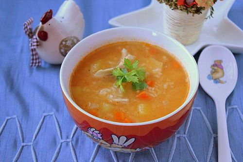 Суп «Харчо» с мясом птицы как в детском саду
