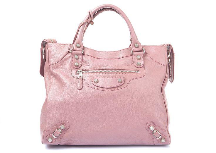 Auth BALENCIAGA Pink Giant Velo Cross Bag Shoulder Bag Tote #Balenciaga #ShoulderBag