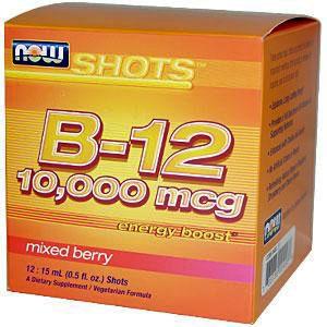 VITAMINA B-12 10000MCG SHOTS - Now Foods