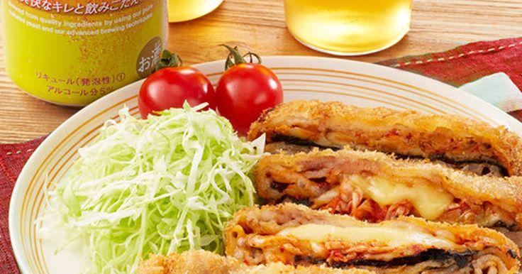 パックのままたたむだけキムチーズとんかつ by クリアアサヒ [クックパッド] 簡単おいしいみんなのレシピが253万品