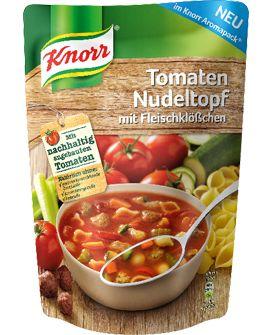 Knorr+Tomaten+Nudeltopf+mit+Fleischklößchen