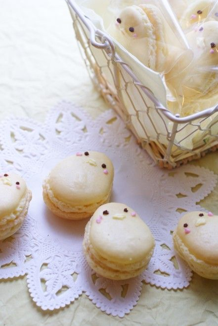 chick macarons w/ tutorial