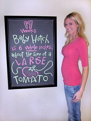 Chalk board weekly pregnancy tracker.19 Weeks, Kids Stuff, Bump Tracker, Baby Bump, Weeks Baby, Chalkboards Weeks, Blog Design, Writing Hoods, Baby Stuff