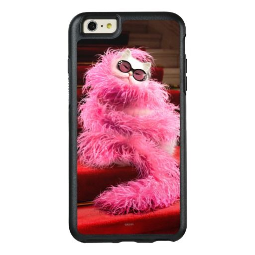 Avanti Press - Diva White Cat Wrapped in Pink Boa on Red Carpet. Regalos, Gifts. #carcasas #cases