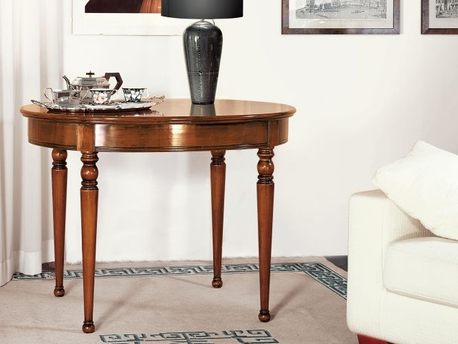Perla   Le Gemme | Classic Collections Le Fablier | Oval Extendable Table |  Measures In