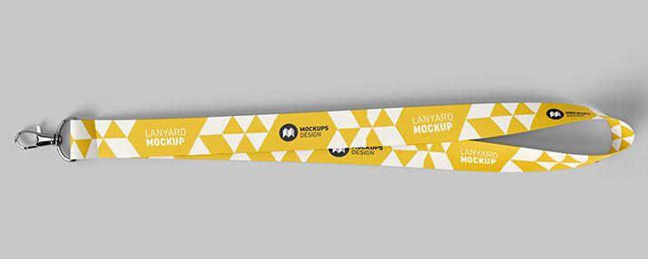 Free Lanyard Mockup Mockups Design Mockup Design Lanyard Designs Mockup
