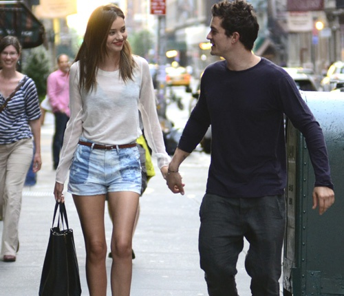 Orlando Bloom y Miranda Kerr, un matrimonio en continua luna de miel #models #actors #people #celebrities