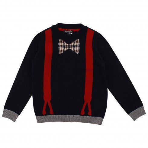 #designerchildrenswear #aquascutum #boys #jumper #christmas