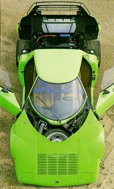 Lancia Stratos..love the color